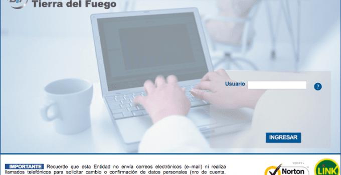 Home Banking Banco Tierra del Fuego (TDF)